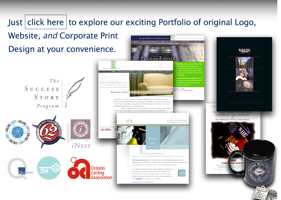 Click HERE to explore our exciting Creative Graphic Design portfolio!